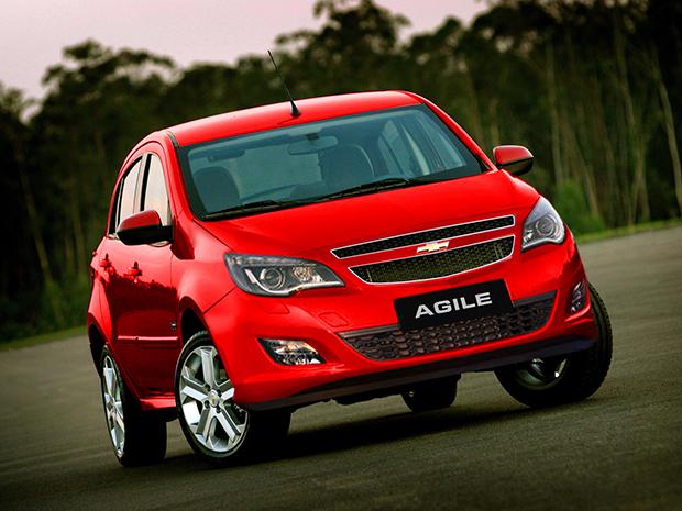 Chevrolet Agile Vermelho