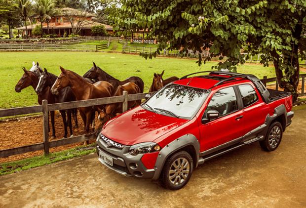 Fiat Strada 2014 Trekking