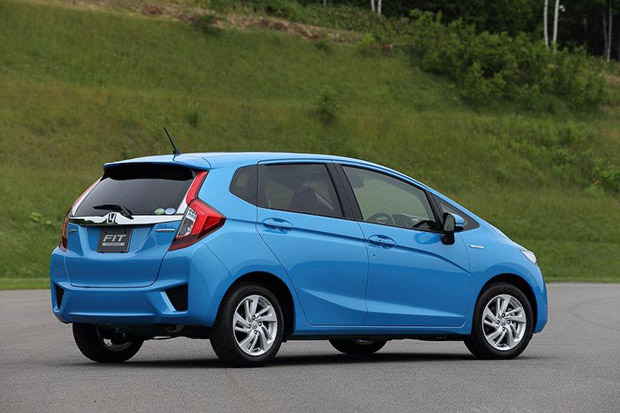 Lateral Honda Fit 2014