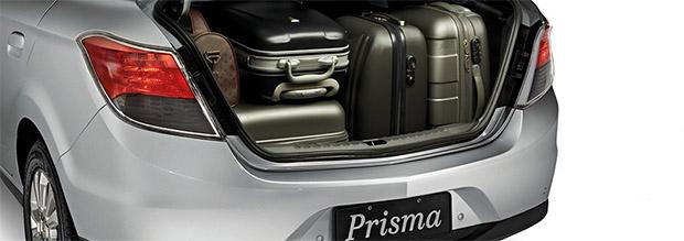 Porta Malas do Prisma 2014