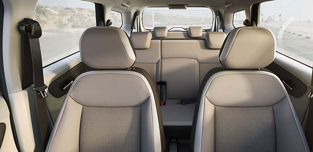 Interior Chevrolet Spin 2014