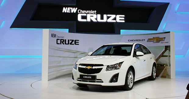 New Chevrolet Cruze Sedan 2014