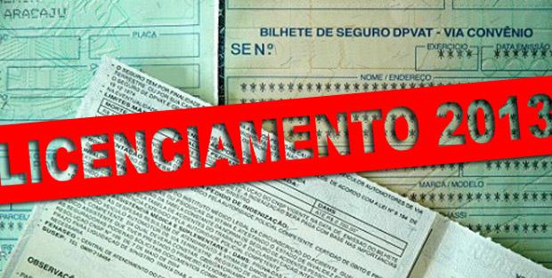 licenciamento 2013