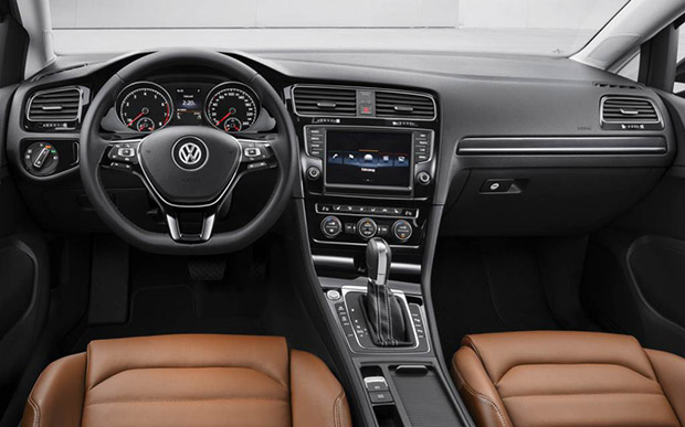 Interior do Novo Golf 2014