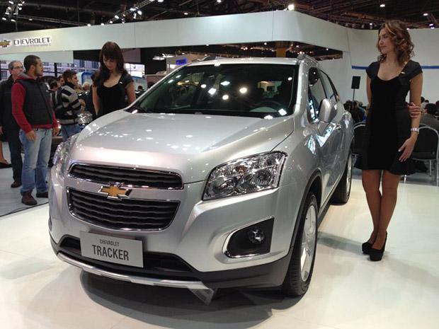Tracker 2014 Chevrolet