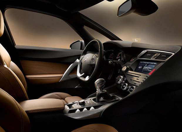 Interior DS 5 Citroen