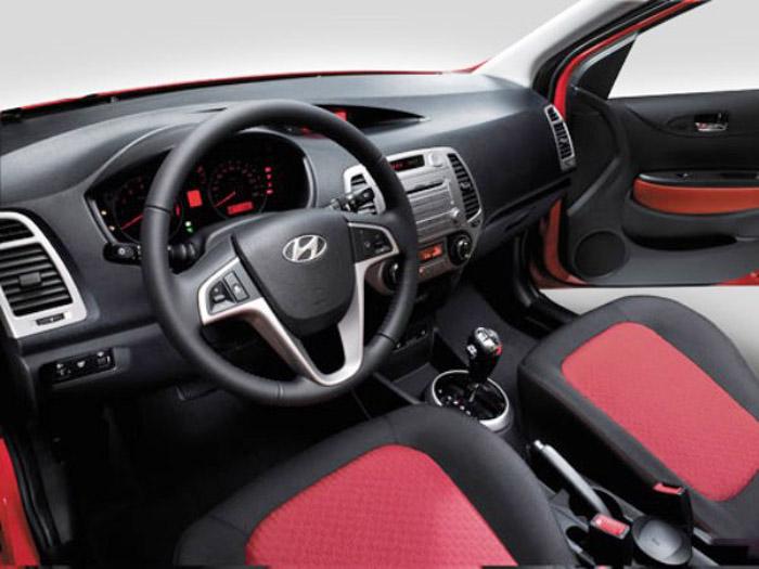 Interior Hyundai i20
