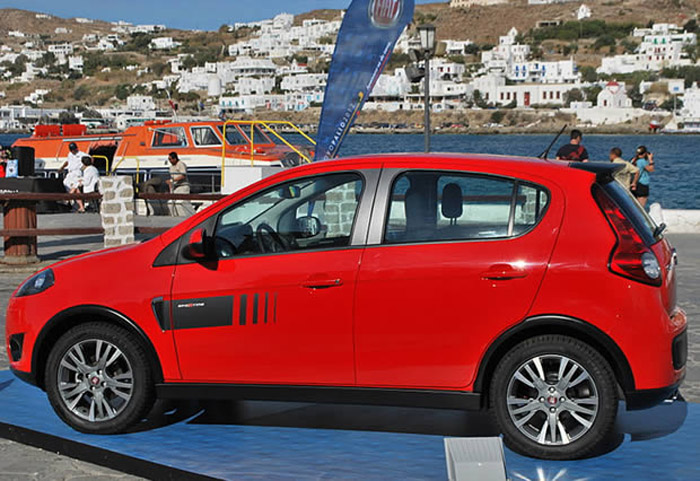 novo palio 2012 vermelho