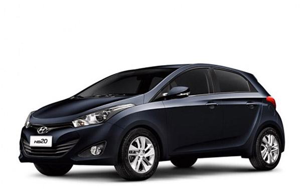 Hyundai hb20 2013 Preto